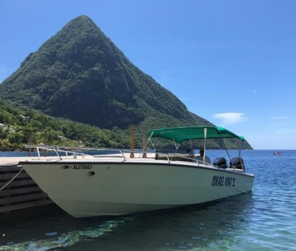 Hire Motorboat with or without skipper Formula Rodney Bay