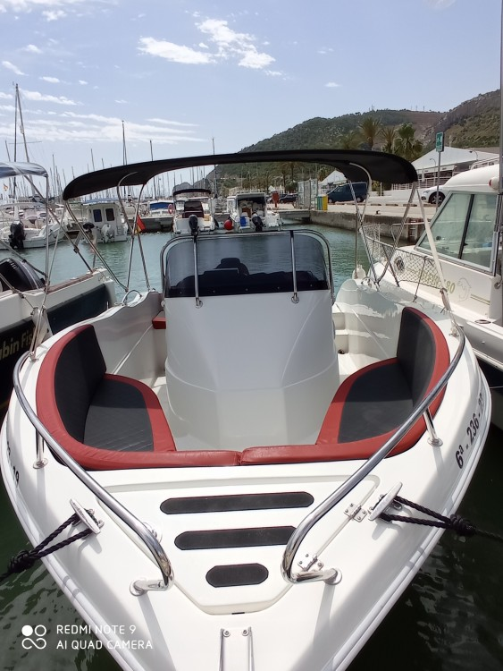 Hire Motorboat with or without skipper Barracuda
