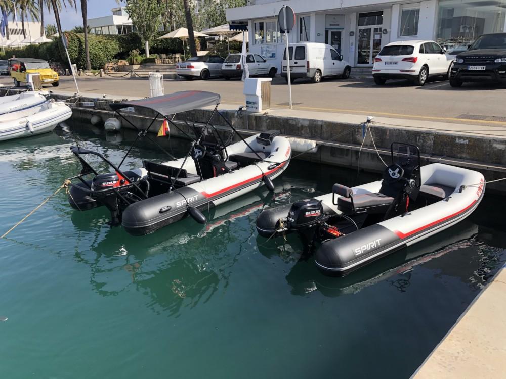 Rental RIB in Palma - AQUASPIRIT 350S