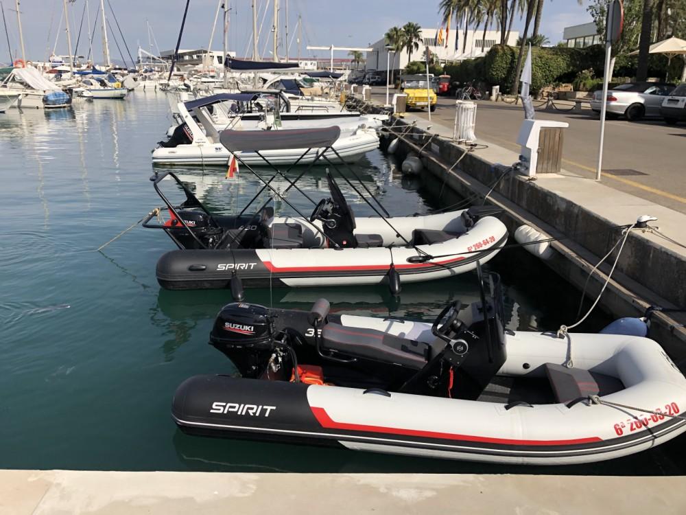Boat rental AQUASPIRIT 350S in Palma on Samboat