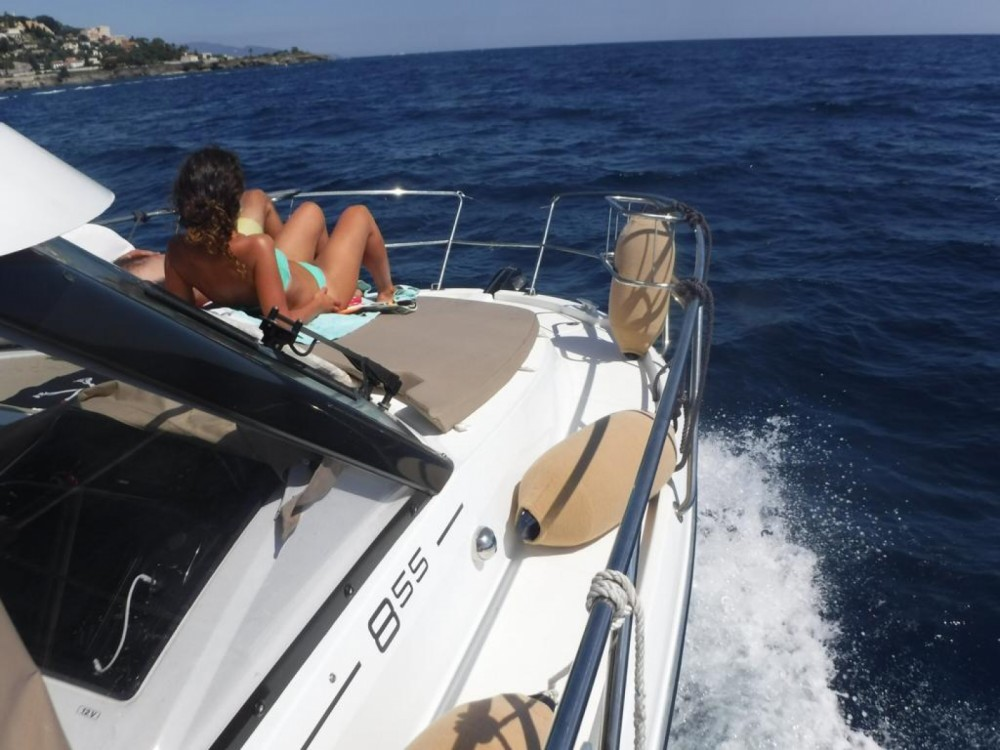 Boat rental Menton cheap Merry Fisher 855