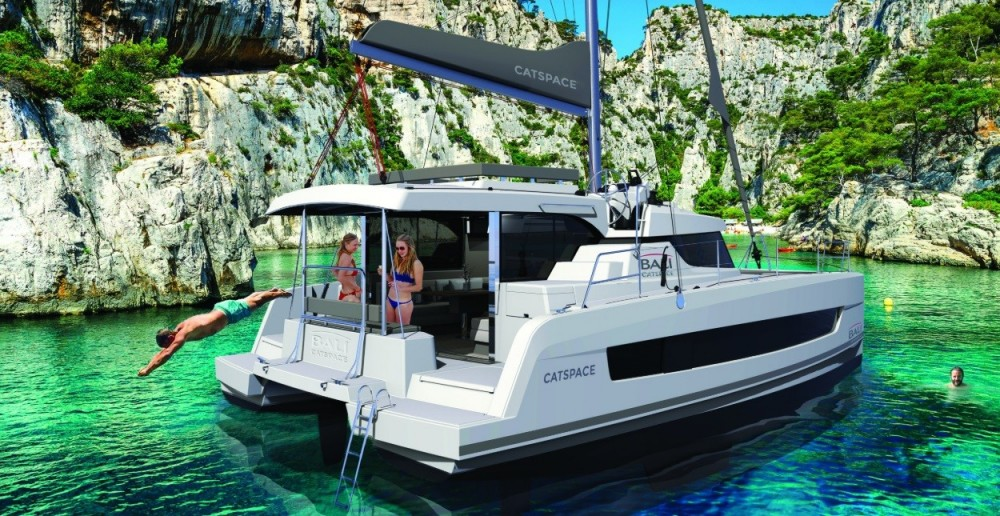 Rent a Bali Catamarans CATSPACE Saint Martin (France)