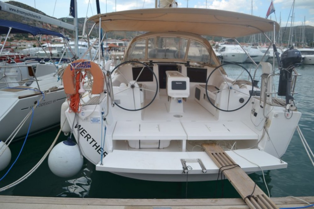 Dufour Dufour 410 Grand Large between personal and professional Olbia