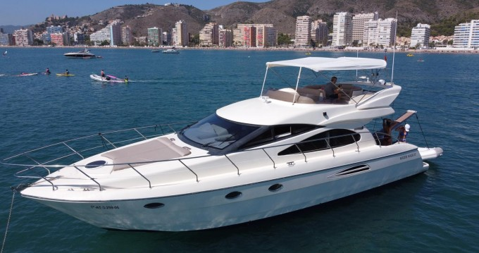 Rental Motorboat Astondoa with a permit