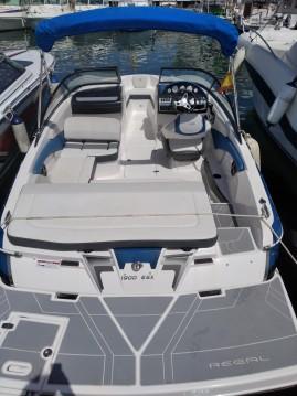 Boat rental Sant Antoni de Portmany cheap Regal 1900 ES