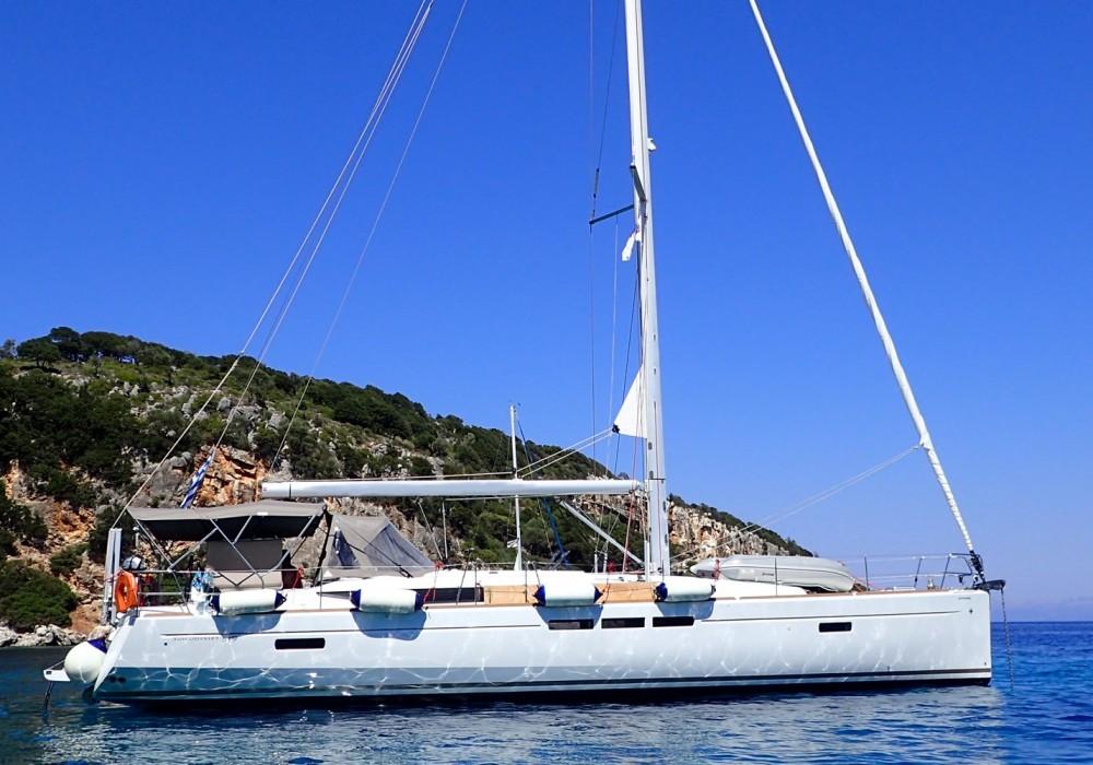 Rental Sailboat in Lefkada - Jeanneau Sun Odyssey 519 - 5 + 1 cab.