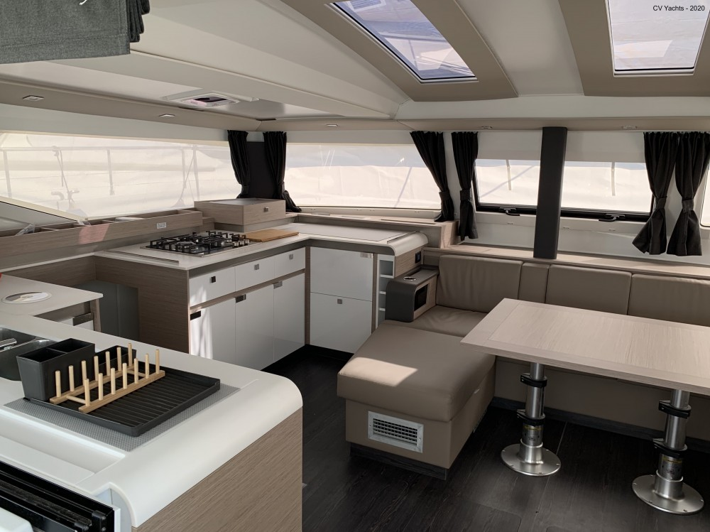 Rental Catamaran in Álimos - Fountaine Pajot Elba 45