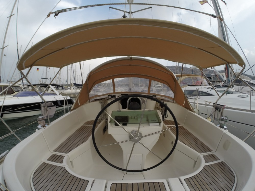 Boat rental Dénia cheap Oceanis 411 Clipper