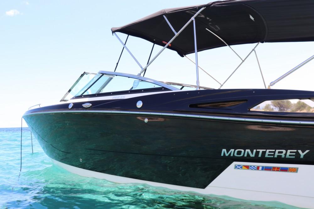 Boat rental Balearic Islands cheap 268 ss