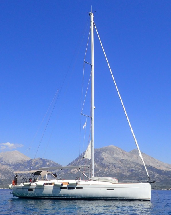 Rental yacht Lefkada - Jeanneau Sun Odyssey 519 - 5 + 1 cab. on SamBoat