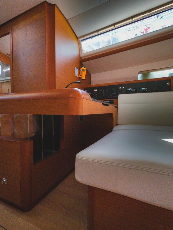 Jeanneau Sun Odyssey 519 - 5 + 1 cab. between personal and professional Lefkada