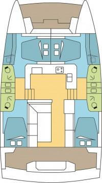 Rental yacht Trogir - Catana Bali Catspace on SamBoat