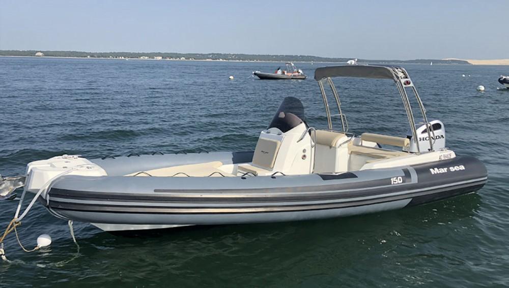 Boat rental Lège-Cap-Ferret cheap Marsea CM 150