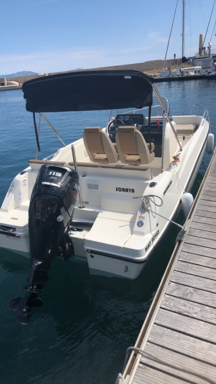 Boat rental Marseille cheap Activ 605 Open