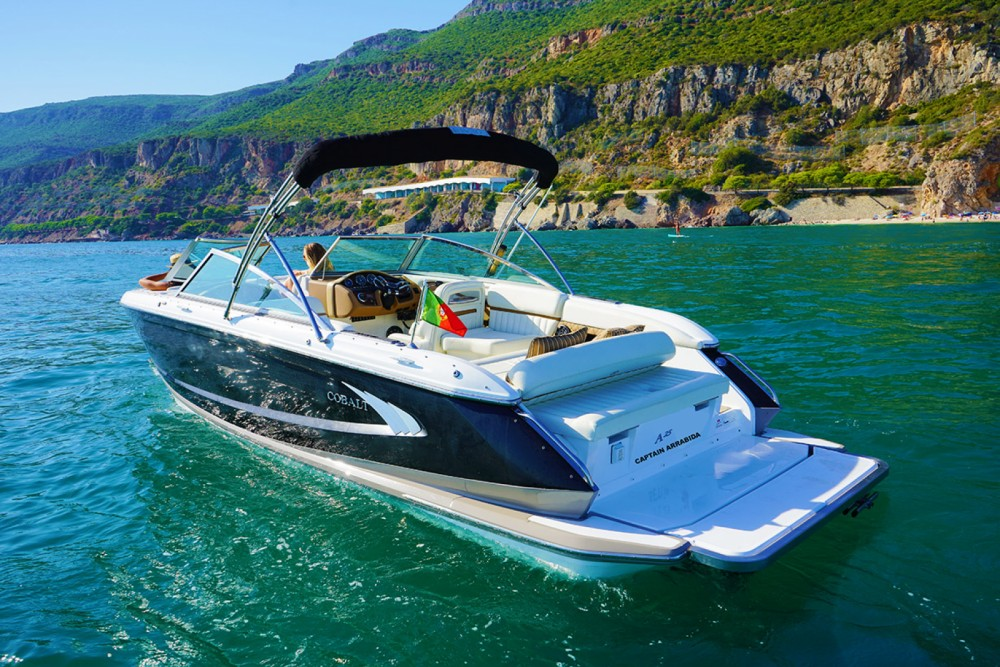 Rental Motorboat Cobalt with a permit