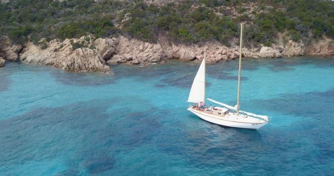 Rental Sailboat in Palau - Sciarelli ketch
