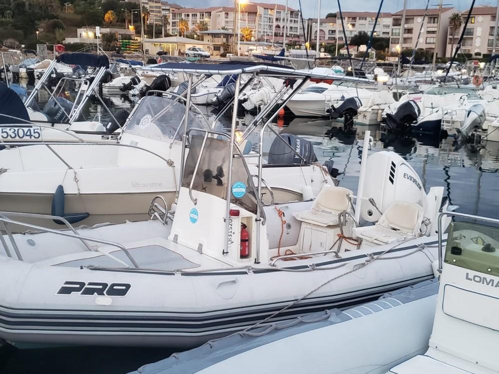Boat rental Six-Fours-les-Plages cheap Pro Open 550