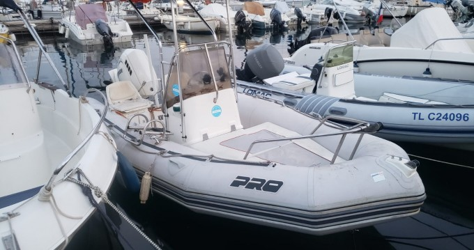 Zodiac Pro Open 550 between personal and professional Bandol