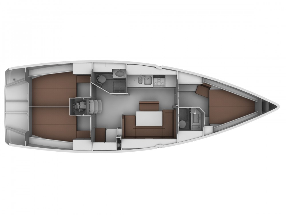 Rental yacht Lemmer - Bavaria Bavaria Cruiser 40 on SamBoat