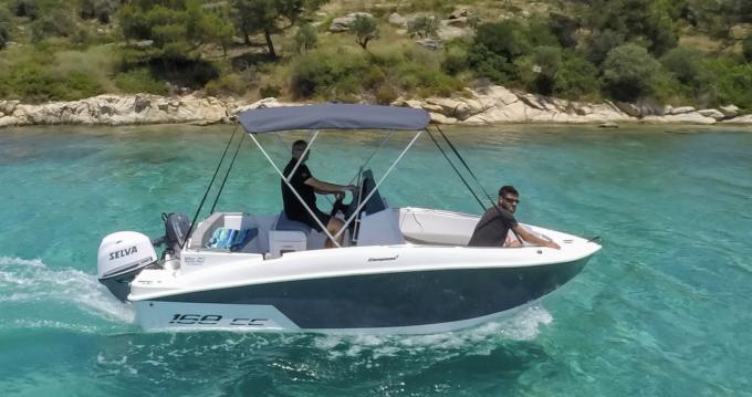 Rental yacht Ormos Panagias - Compass 168cc on SamBoat