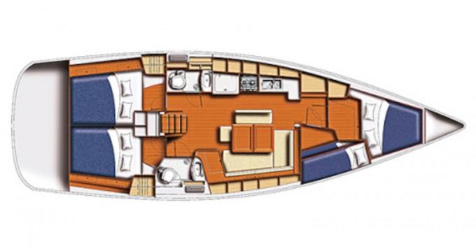 Rental yacht Eleusis - Bénéteau Oceanis 43 on SamBoat