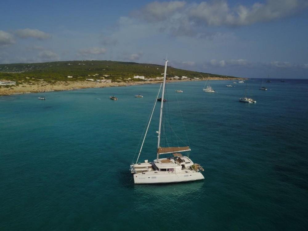Catamaran for rent San Antonio at the best price