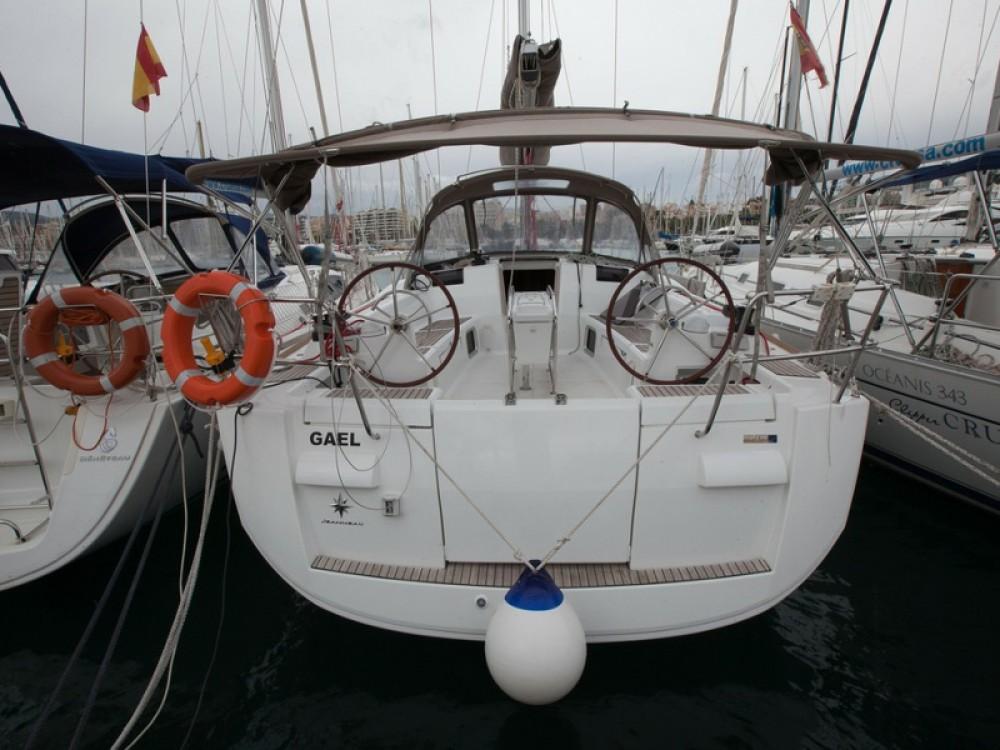 Boat rental Palma cheap Sun Odyssey 439