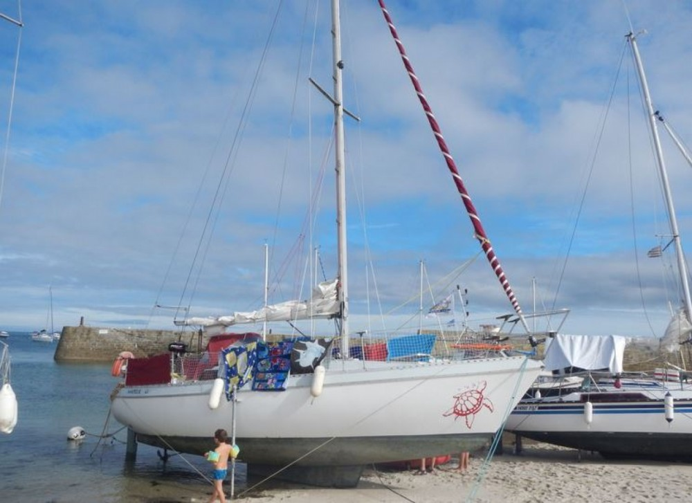 Boat rental Concarneau cheap Gib Sea 28 Dl