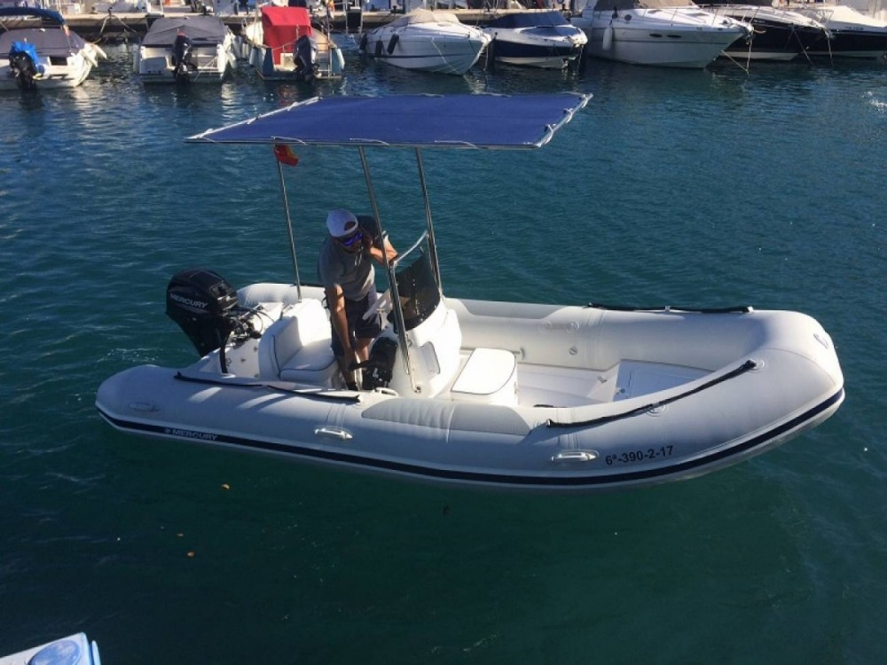 Boat rental Almuñécar cheap Ocean Runner 460