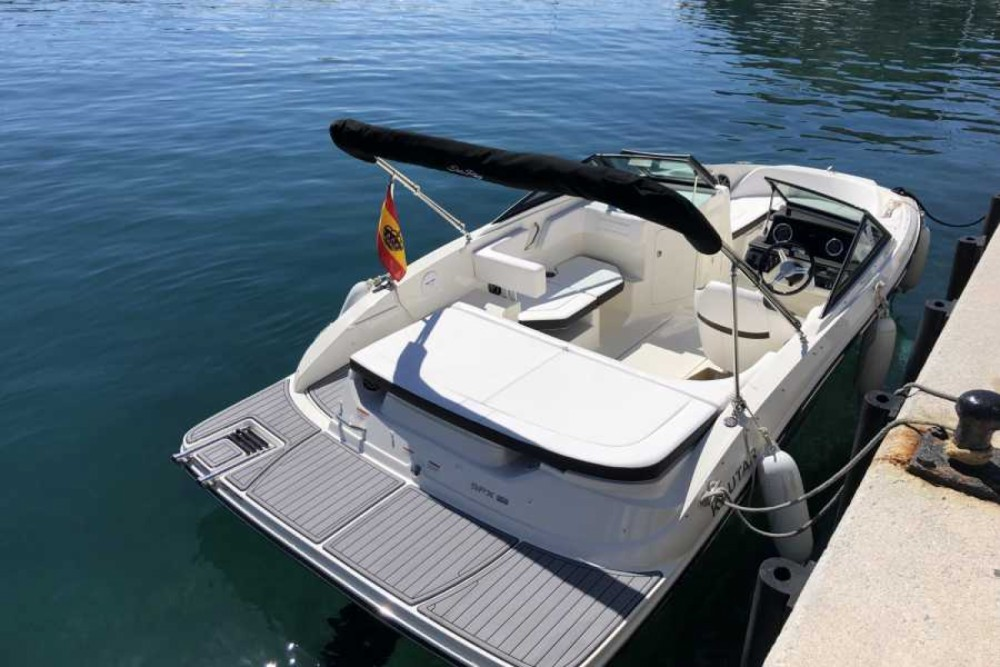 Motorboat for rent Almuñécar at the best price
