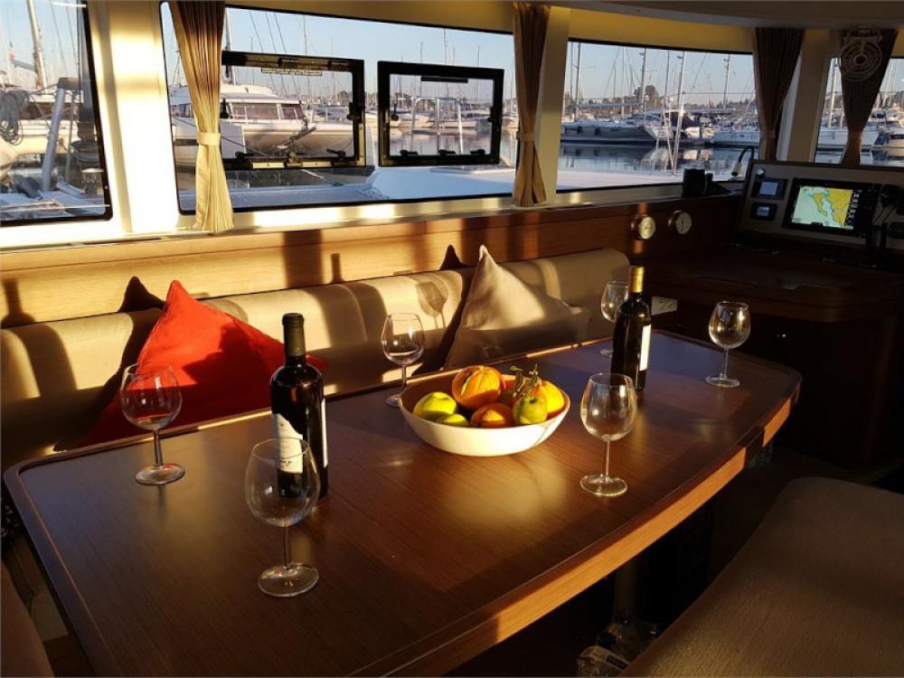 Hire Catamaran with or without skipper Lagoon Kontokali