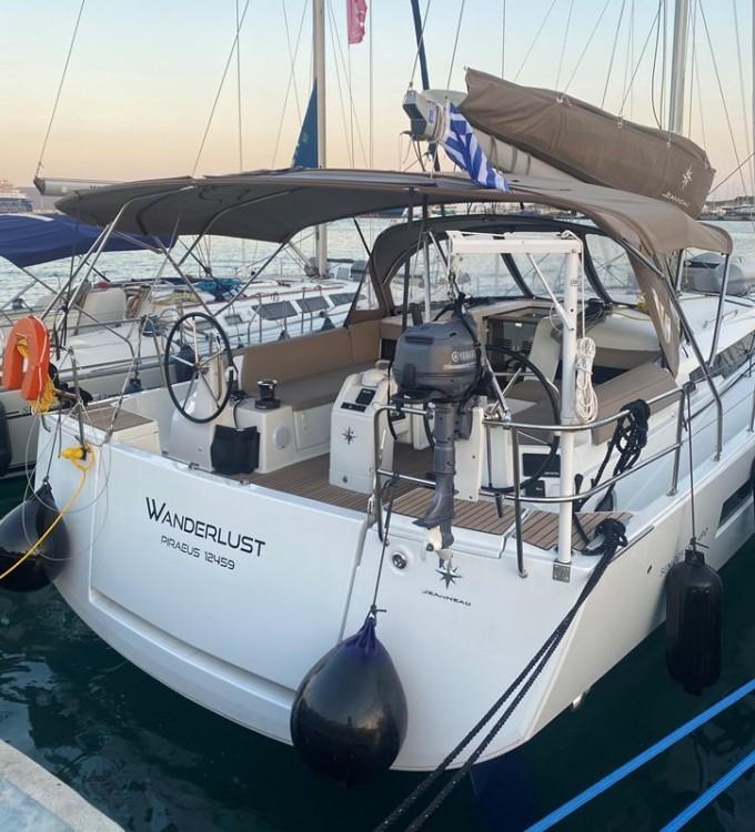 Rental yacht Laurium - Jeanneau Sun Odyssey 490 on SamBoat