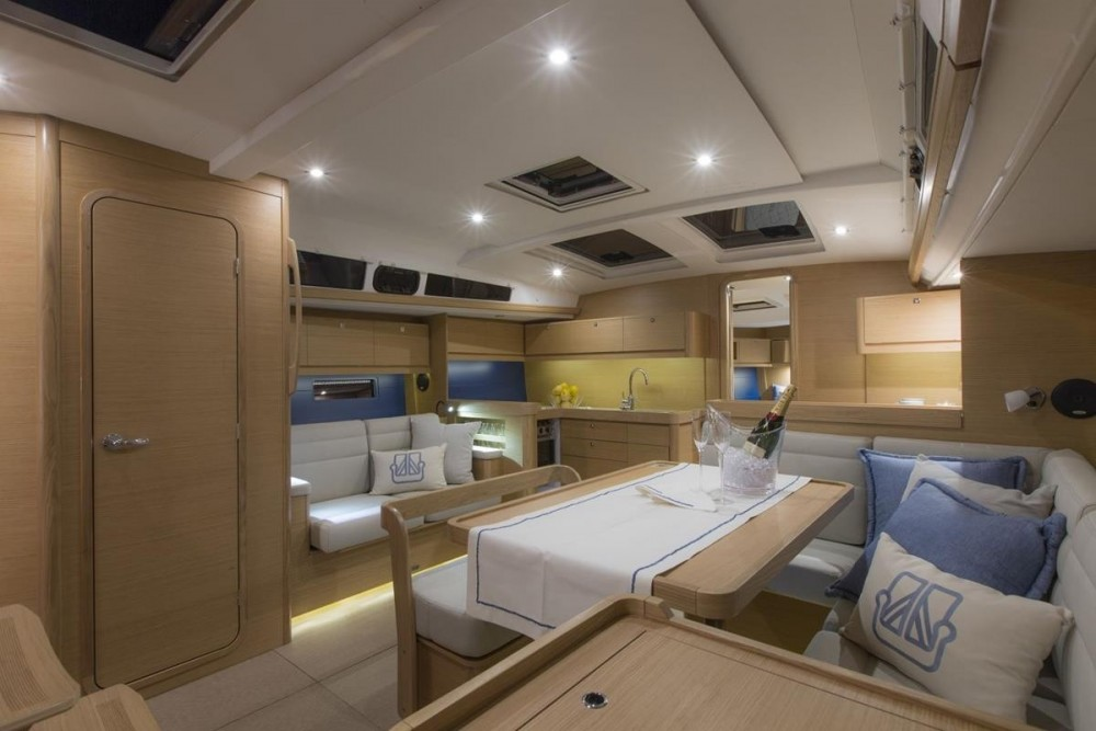 Rental Sailboat Dufour 460 Grand Large - 5 cabins with a permit