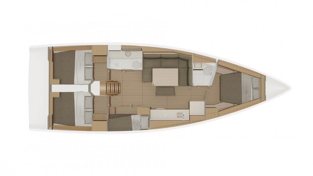 Rental Sailboat in Grad Biograd na Moru - Dufour 430 Grand Large Dufour 430 Grand Large