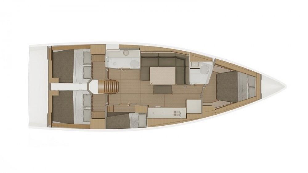 Boat rental Dufour 430 Grand Large Dufour 430 Grand Large in Grad Biograd na Moru on Samboat
