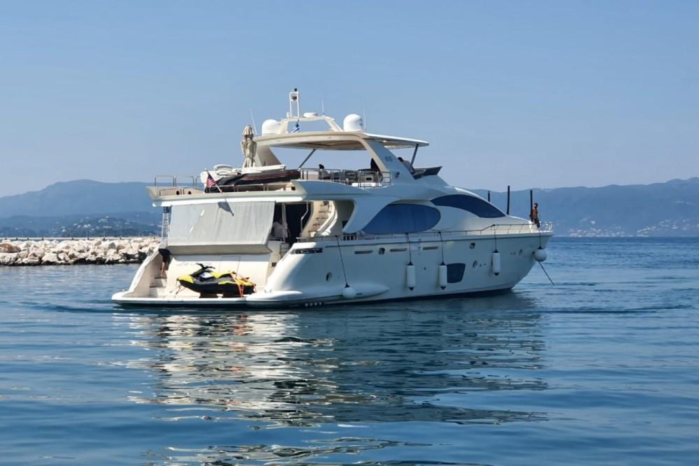 Rental Yacht in Gouvia - Azimut Azimut 85F