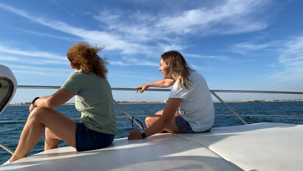 Boat rental Punta Umbría cheap Targa 33