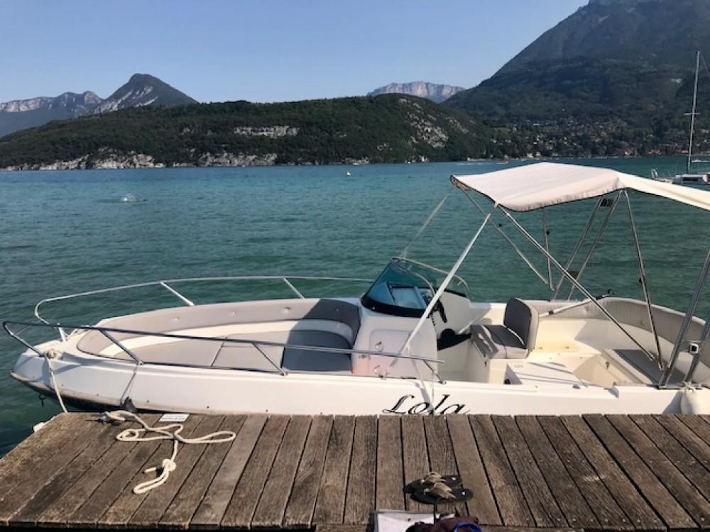 Boat rental Saint-Jorioz cheap Eden 22