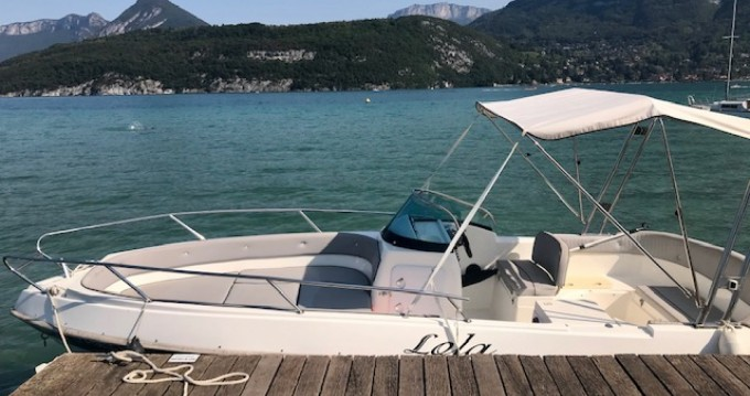 Rental Motorboat Marinello with a permit