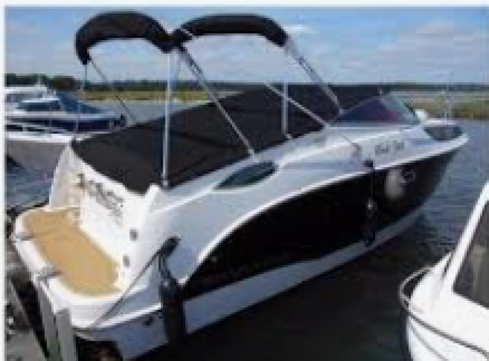 Rental Motorboat in Ouistreham - Bayliner Bayliner 2255 Sunbridge Sport