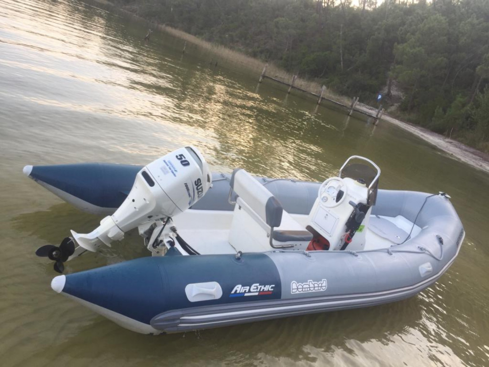 Hire RIB with or without skipper Bombard Lacanau