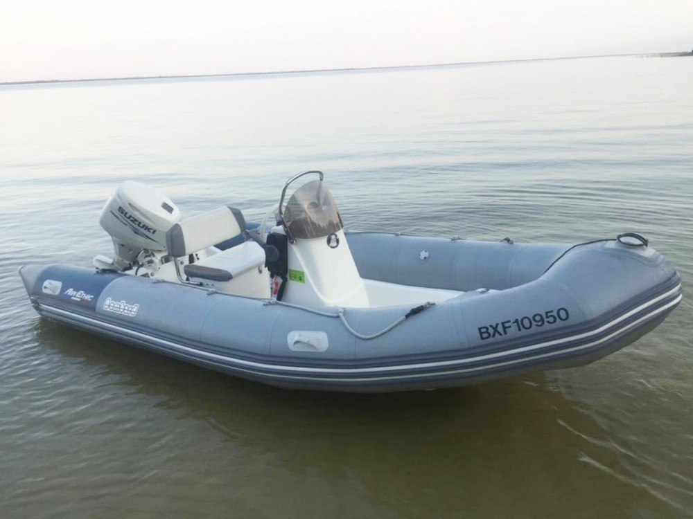 Bombard Air Ethic 500 between personal and professional Lacanau