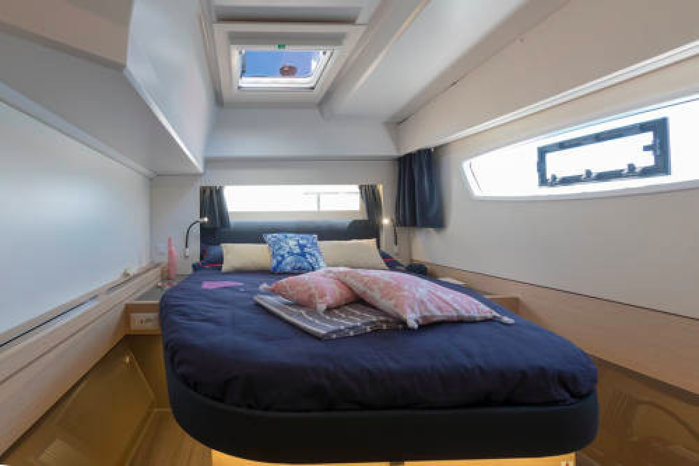 Fountaine Pajot Astrea 42 O.V. between personal and professional Athens
