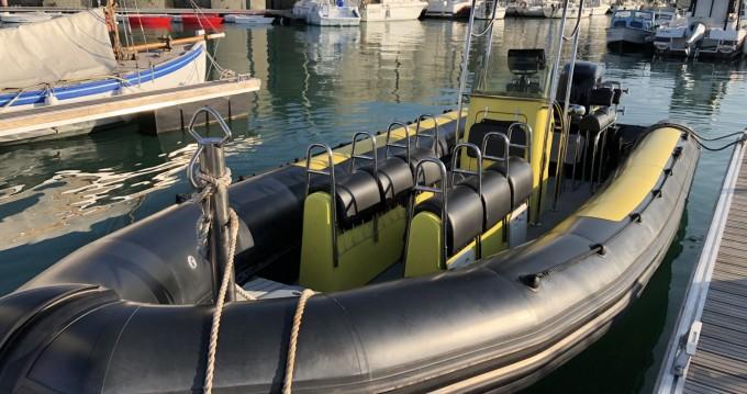 Rental yacht Granville - Zodiac Zodiac 730 HURRICAN on SamBoat