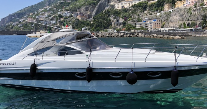 Boat rental Amalfi cheap Pershing 37