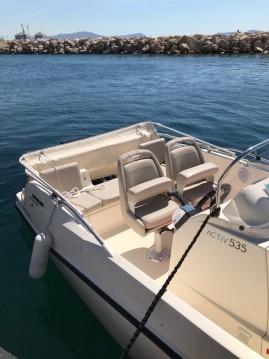 Boat rental Marseille cheap Activ 535 Open