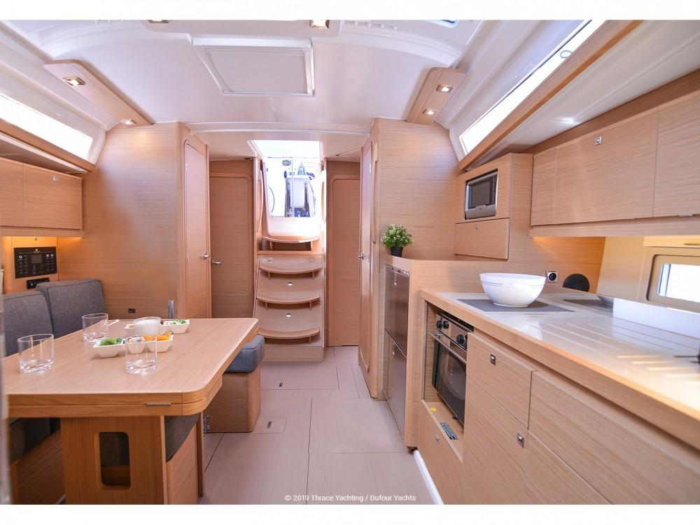 Rental yacht Kontokali - Dufour Dufour 390 Grand Large on SamBoat