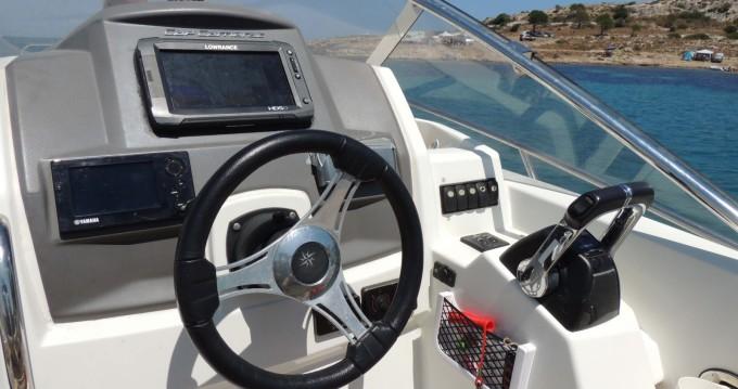 Rental Motorboat in Castelsardo - Jeanneau Cap Camarat 8.5 WA