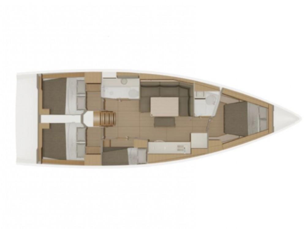 Rental Sailboat in Olbia - Dufour Dufour 430 Grand Large