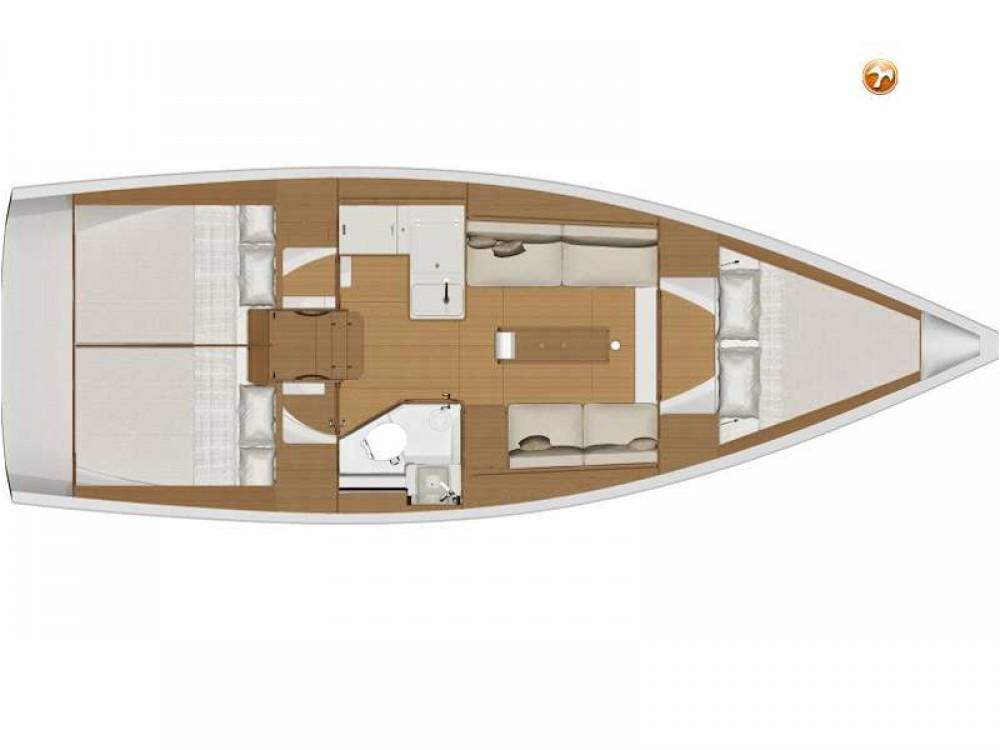 Boat rental Dufour Dufour 360 Grand Large in  on Samboat